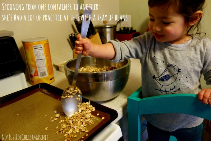 cooking with young kids