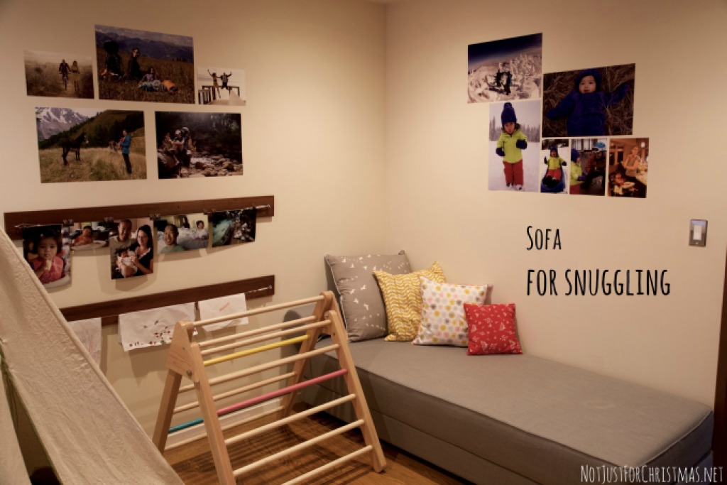 playroom tour sofa