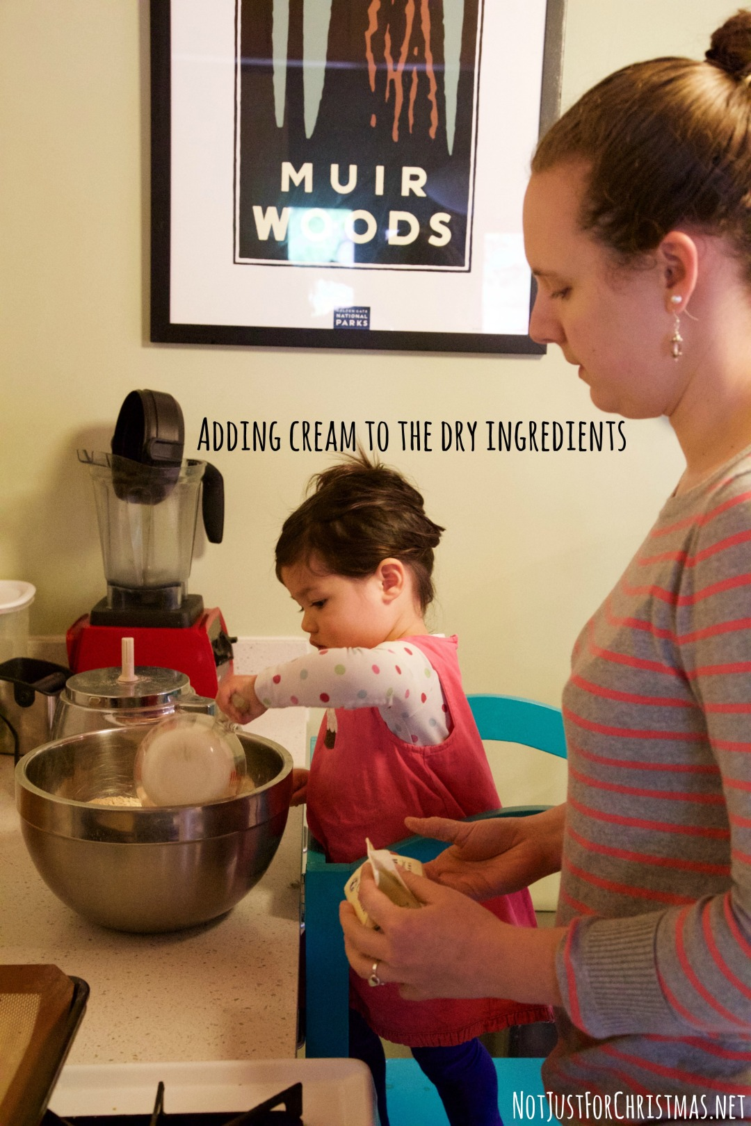 teaching kids baking