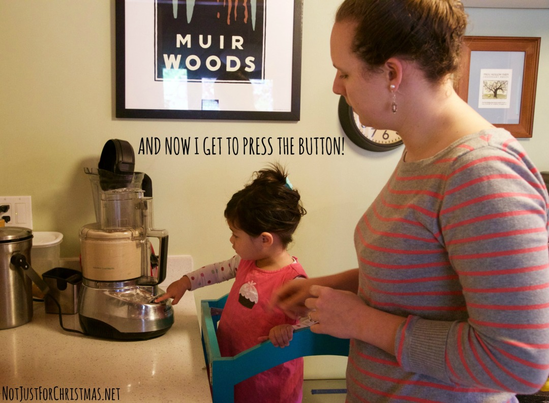 teaching kids to cook food processor